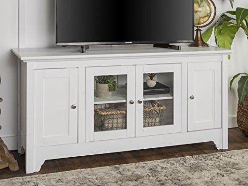 "WE 52"" TV Console - White"