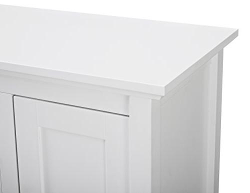 WE Furniture Console - White
