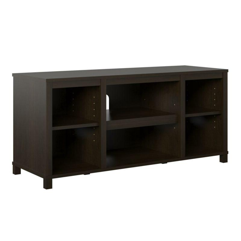 Wooden Entertainment Console Open Media Center 50 Inch