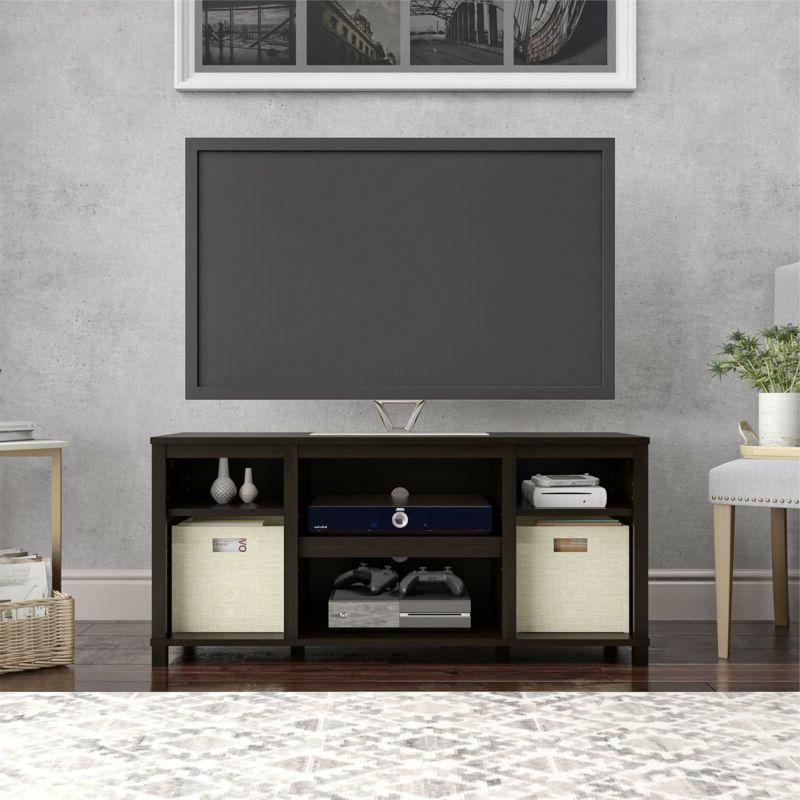 Wooden Console Open Center 50 Stand
