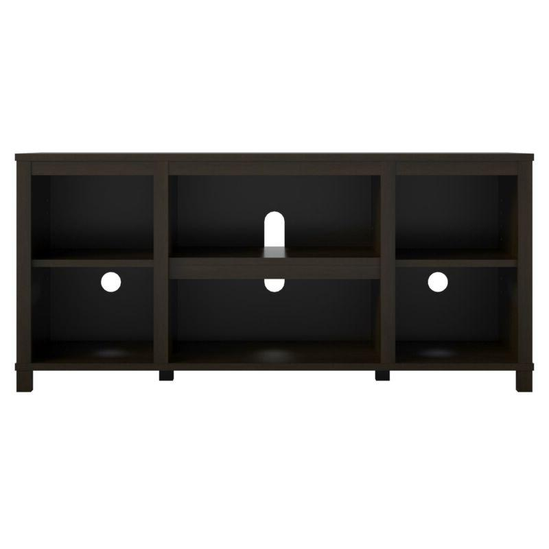 Wooden Console Open Center Inch Stand