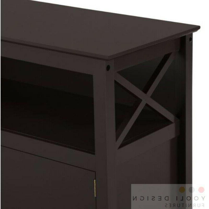 Wooden TV Stand Cabinet Mount Media Entertainment Console