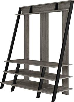 Ladder Style Sonoma Oak Home Entertainment Center for TVs up