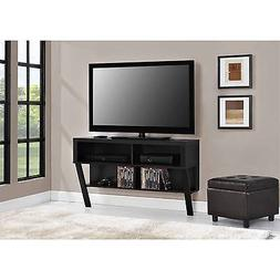 "Altra Layton Wall Mounted 47"" TV Stand, Black Oak"