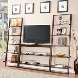 Riverside Furniture Lean Living TV Stand in Burnished Browns