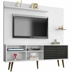 "Manhattan Comfort Liberty 71"" Entertainment Center in White"