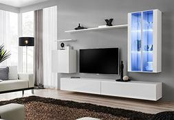 Domovero Lumina 12 contemporary entertainment center/Contemp