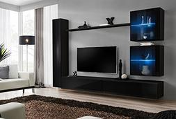 Domovero Lumina 18 Entertainment Center/Contemporary wall un