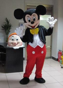 Mascot Costume for Adults Mickey Mouse Entertainment Centres