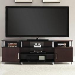 Wood Home TV Stand with Shelves Storage Console Table Media