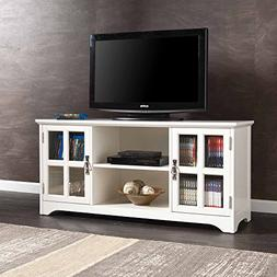 """Media TV Stand for TVs up to 50"""" with Open Center Storage, 2"""