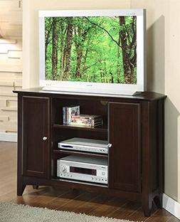 Riverside Furniture Metro II 44 Corner Stand Ebony Brown