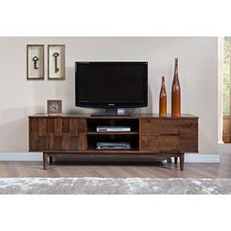 Mid Century Danish Style Wood 70 inch Media Console TV Stand