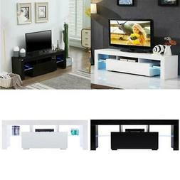 modern tv stand with led light entertainment