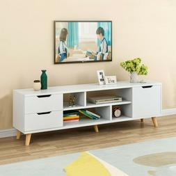 NEW TV Stand Entertainment Center Console Media Storage Cabi