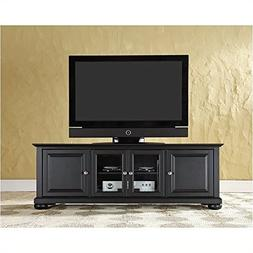 "Pemberly Row 60"" Low Profile TV Stand in Black"