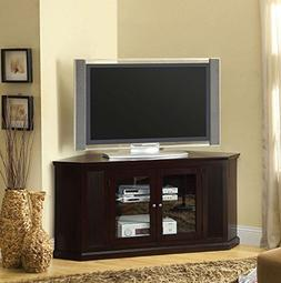 247SHOPATHOME IDF-5352-TV Television-Stands, Walnut