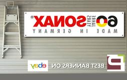 Sonax Polish & Detailing 60th Anniversary Banner, for Worksh