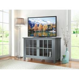 """Square TV Console for TVs up to 55"""", Multiple Finishes, Adju"""