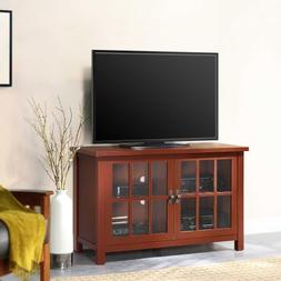 "Square TV Console for TVs up to 55"", Multiple Finishes, Adju"