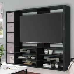 Tall Tv Stand Entertainment Center For Flat Screen Up to 55""