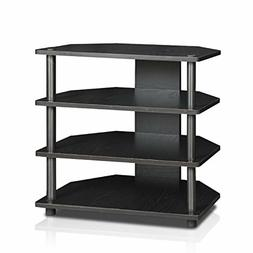 Furinno Turn-N-Tube Easy Assembly 4-Tier Petite TV Stand 150