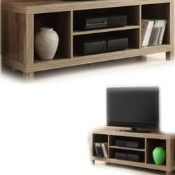 "TV CONSOLE STAND 42"" ENTERTAINMENT Center Wood Media Cabinet"