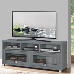 TV Stand 50 55 65 75 in Flat Screen Entertainment Media Cent