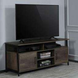 "TV Stand 58"" Entertainment Center Media Console Furniture Wo"