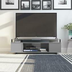TV STAND 65 INCH ENTERTAINMENT Media Console Center Flat Scr
