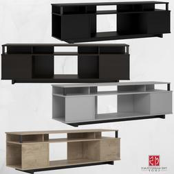 TV Stand 65 inches Flat Screen TVs Entertainment Center Medi
