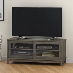 "Mainstays TV Stand for TVs up to 55"", Rodeo Oak"