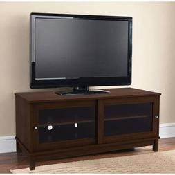 "Mainstays TV Stand for TVs up to 55"", Multiple Finishes With"