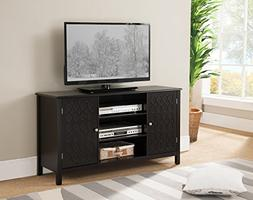 Kings Brand Furniture TV Stand Entertainment Center With Sto