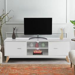 TV Stand Entertainment Center Console Cabinet Stand  2 Doors