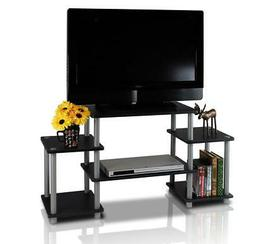 TV Stand Entertainment Center Console Wood Media Furniture S