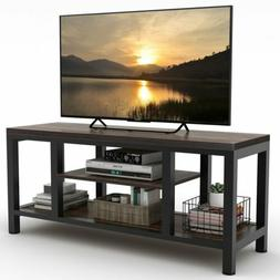 tv stand entertainment center rustic media console