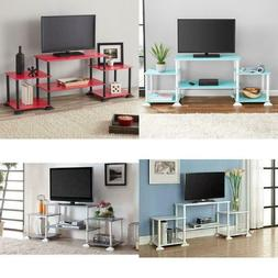TV Stand Entertainment Center Media Console Wood Furniture C