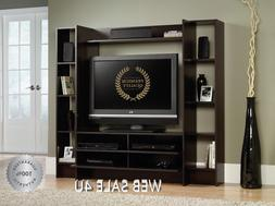 TV Stand Entertainment Center Wall Unit Living Room Wood Con
