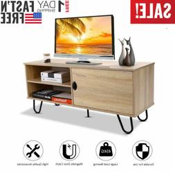 tv stand entertainment media center console shelf