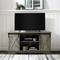 """TV Stand Large Entertainment Center LED TV Up to 64"""" Sliding"""