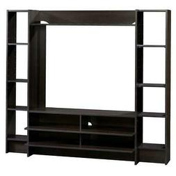 SAUDER TV Stand Shelved Entertainment Center Cable Managemen