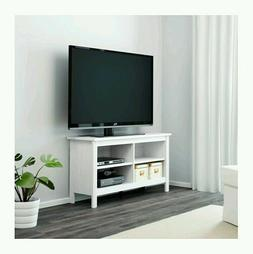 TV Stand White Entertainment Furniture Media Console Center