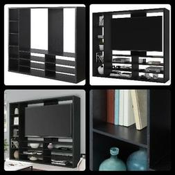 Entertainment Center Wall Unit Contemporary Cabinet TV Stand