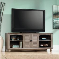 "View Entertainment Credenza for TVs up to 60"", Multiple Fini"