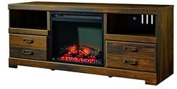 Ashley Furniture Signature Design - Quinden Large TV Stand -