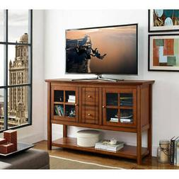 "Walker Edison 52"" Wood Console Table Buffet TV Stand for TV'"