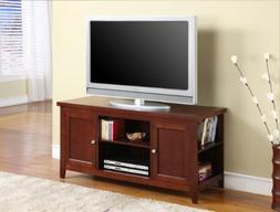 InRoom Designs E1034 Kings Brand Finish Wood TV Stand Entert