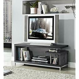 Weathered Grey Finish TV LCD Plasma Entertainment Center Sta
