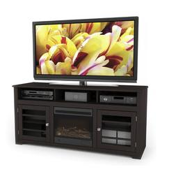 Sonax West Lake Collection Wood Espresso Fireplace 60 Inch E